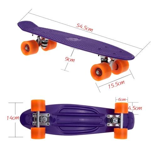 22 Lightweight Complete Plastic SkateboardSports &amp; Outdoor<br>22 Lightweight Complete Plastic Skateboard<br>