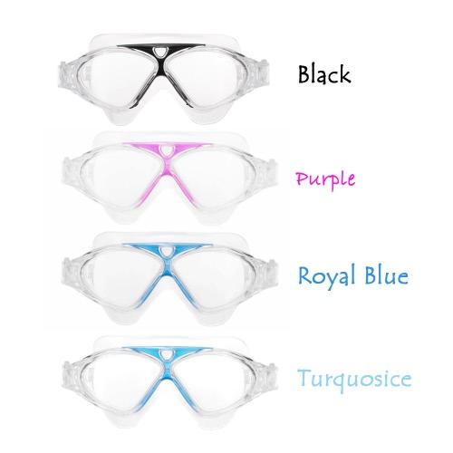 Adjustable Unisex Adult Non Fogging Anti-UV Large Swimming Goggles Swim GlassesSports &amp; Outdoor<br>Adjustable Unisex Adult Non Fogging Anti-UV Large Swimming Goggles Swim Glasses<br>