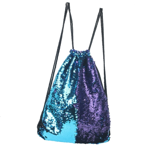 Women Cosmetic Bags Fashion Glittering Dance Bag Double Color Reversible Sequins Daypack Drawstring Glitter Backpack Magic PailletSports &amp; Outdoor<br>Women Cosmetic Bags Fashion Glittering Dance Bag Double Color Reversible Sequins Daypack Drawstring Glitter Backpack Magic Paillet<br>