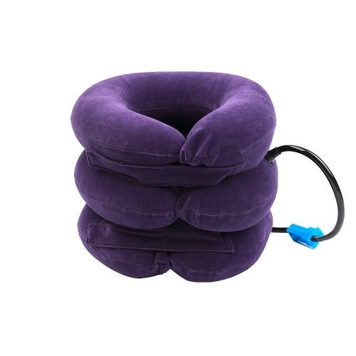 Full Velvet Cervical Traction Device