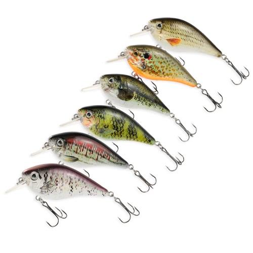 Lixada 75mm/13g Crank Fishing Lure Hard Bait with Hooks Fishing Metal Ball TackleSports &amp; Outdoor<br>Lixada 75mm/13g Crank Fishing Lure Hard Bait with Hooks Fishing Metal Ball Tackle<br>