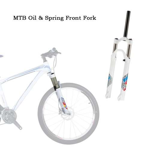 Ultra-light 26 Mountain Bike Oil/Spring Front Fork Bicycle Accessories Parts Cycling Bike Fork