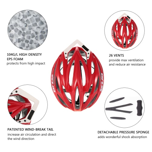 GUB 26 Vents Integrated Ultra-lightweight Bicycling Biking Bicycle Helmet Skating Roller Skating Scooter Protective In-mold HelmetSports &amp; Outdoor<br>GUB 26 Vents Integrated Ultra-lightweight Bicycling Biking Bicycle Helmet Skating Roller Skating Scooter Protective In-mold Helmet<br>