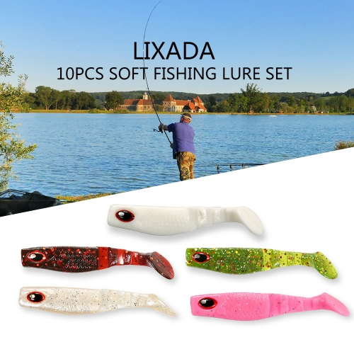 Lixada 10pcs 7cm/3.8g Square Head Fish Type Soft Fishing Lure 3D Eyes Soft Lure Soft Bait Sea Fishing LureSports &amp; Outdoor<br>Lixada 10pcs 7cm/3.8g Square Head Fish Type Soft Fishing Lure 3D Eyes Soft Lure Soft Bait Sea Fishing Lure<br>