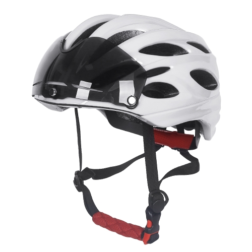 Bike Bicycle Cycling Helmet Outdoor Sports Riding MTB Bike Bicycle Safety Protection Helmet with Detachable Magnetic Shield GoggleSports &amp; Outdoor<br>Bike Bicycle Cycling Helmet Outdoor Sports Riding MTB Bike Bicycle Safety Protection Helmet with Detachable Magnetic Shield Goggle<br>
