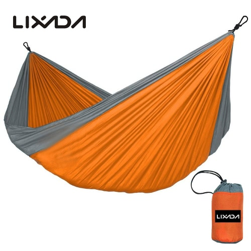 Lixada Portable Durable Compact Nylon Fabric Traveling Camping Hammock for Two PersonsSports &amp; Outdoor<br>Lixada Portable Durable Compact Nylon Fabric Traveling Camping Hammock for Two Persons<br>
