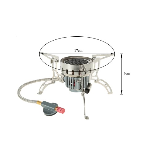 Outdoor Infrared Camping Stove Ultralight Portable Furnace Collapsible Windproof Gas Stove Mini Burner for Cookout Picnic Hiking BSports &amp; Outdoor<br>Outdoor Infrared Camping Stove Ultralight Portable Furnace Collapsible Windproof Gas Stove Mini Burner for Cookout Picnic Hiking B<br>