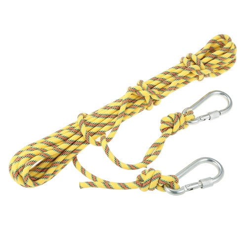 Docooler 8mm * 10m Outdoor Safety Rock Climbing Rope Cord Caving Rappelling Abseiling Rescue Survival Accessory Cord Sling with CaSports &amp; Outdoor<br>Docooler 8mm * 10m Outdoor Safety Rock Climbing Rope Cord Caving Rappelling Abseiling Rescue Survival Accessory Cord Sling with Ca<br>