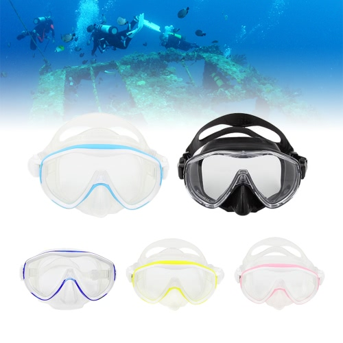 High-quality Men's Women's Anti-fog Diving Mask Snorkeling Mask Single Window Scuba Mask Swim Goggles Swimming Mask Tempered GlassSports &amp; Outdoor<br>High-quality Men's Women's Anti-fog Diving Mask Snorkeling Mask Single Window Scuba Mask Swim Goggles Swimming Mask Tempered Glass<br>