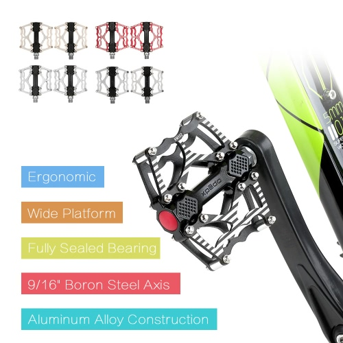 XPEDO Bicycle Pedal Aluminum Alloy Mountain Bike Pedals Road Cycling Sealed Bearing Pedals BMX Ultra Light Bike Pedal Bicycle PartSports &amp; Outdoor<br>XPEDO Bicycle Pedal Aluminum Alloy Mountain Bike Pedals Road Cycling Sealed Bearing Pedals BMX Ultra Light Bike Pedal Bicycle Part<br>
