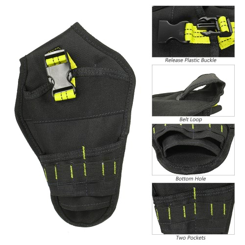 Portable Tool Bag Impact Driver Drill Holster Top Quality Canvas Electrician Waist Pocket Garden Tool Belt Pouch Deluxe Cordless PSports &amp; Outdoor<br>Portable Tool Bag Impact Driver Drill Holster Top Quality Canvas Electrician Waist Pocket Garden Tool Belt Pouch Deluxe Cordless P<br>