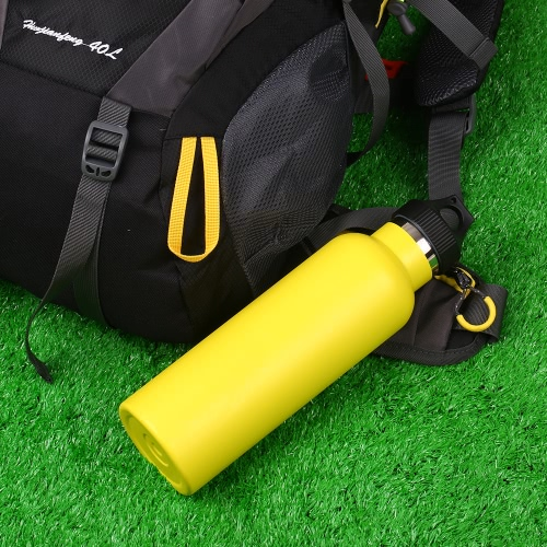 750ml / 26oz Stainless Steel Water Bottle Double Walled Vacuum Insulated Metal Water Bottle Travel or Gym BPA Free with Leak ProofSports &amp; Outdoor<br>750ml / 26oz Stainless Steel Water Bottle Double Walled Vacuum Insulated Metal Water Bottle Travel or Gym BPA Free with Leak Proof<br>