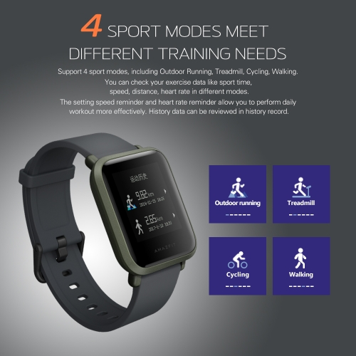 Xiaomi Huami Amazfit Bip GPS Smart Sport Watch---International VersionSports &amp; Outdoor<br>Xiaomi Huami Amazfit Bip GPS Smart Sport Watch---International Version<br>