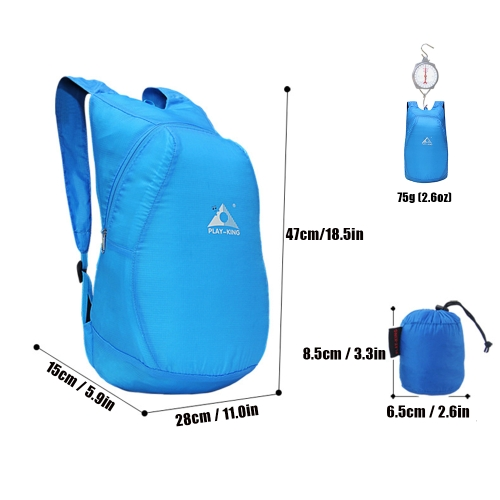 20L Lightweight Packable Backpack Foldable Outdoor Camping Hiking Cycling Handy Travel Daypack BagSports &amp; Outdoor<br>20L Lightweight Packable Backpack Foldable Outdoor Camping Hiking Cycling Handy Travel Daypack Bag<br>