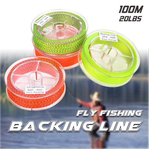 100M 20LBS Braided Nylon Fly Line Fly Fishing Backing LineSports &amp; Outdoor<br>100M 20LBS Braided Nylon Fly Line Fly Fishing Backing Line<br>