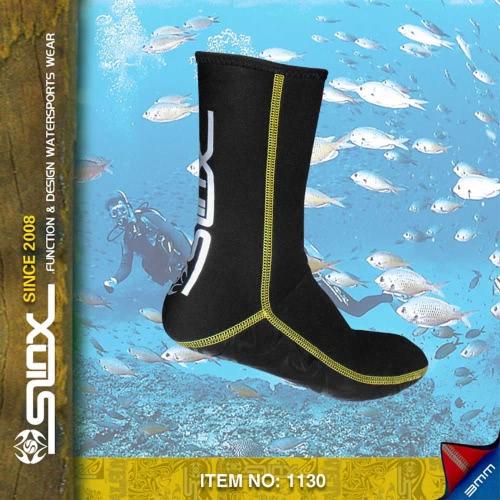 SLINX 3mm Neoprene Socks for Diving Snorkeling Socks SwimwearSports &amp; Outdoor<br>SLINX 3mm Neoprene Socks for Diving Snorkeling Socks Swimwear<br>