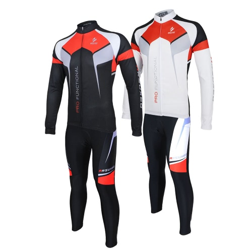 ARSUXEO Spring Autumn Cycling Clothing Set Sportswear Suit Bicycle Bike Outdoor Long Sleeve Jersey + Pants Breathable Quick-dry MeSports &amp; Outdoor<br>ARSUXEO Spring Autumn Cycling Clothing Set Sportswear Suit Bicycle Bike Outdoor Long Sleeve Jersey + Pants Breathable Quick-dry Me<br>