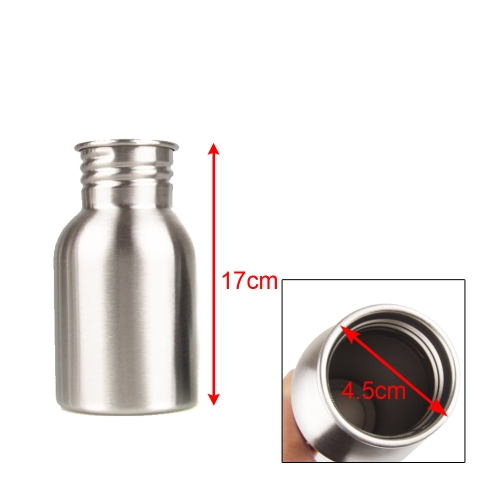 350ml Outdoor Sports Stainless Steel Wide Mouth Drinking Water Bottle for Camping CyclingSports &amp; Outdoor<br>350ml Outdoor Sports Stainless Steel Wide Mouth Drinking Water Bottle for Camping Cycling<br>