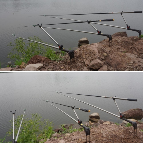 1.7M 1.9M 2.1M Telescopic Fishing Rod Holder Stainless Steel Pole Bracket Fishing Accessory ToolSports &amp; Outdoor<br>1.7M 1.9M 2.1M Telescopic Fishing Rod Holder Stainless Steel Pole Bracket Fishing Accessory Tool<br>