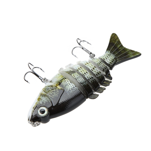Lixada 10cm / 4 21g Multi Jointed Fishing Hard Lure Bait Swimbait Life-like with Treble HooksSports &amp; Outdoor<br>Lixada 10cm / 4 21g Multi Jointed Fishing Hard Lure Bait Swimbait Life-like with Treble Hooks<br>