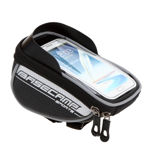 BaseCamp Mountain Road MTB Bike Bicycle Front Top Frame Handlebar Bag Cycling Pouch Touchable for 5.5Sports &amp; Outdoor<br>BaseCamp Mountain Road MTB Bike Bicycle Front Top Frame Handlebar Bag Cycling Pouch Touchable for 5.5<br>