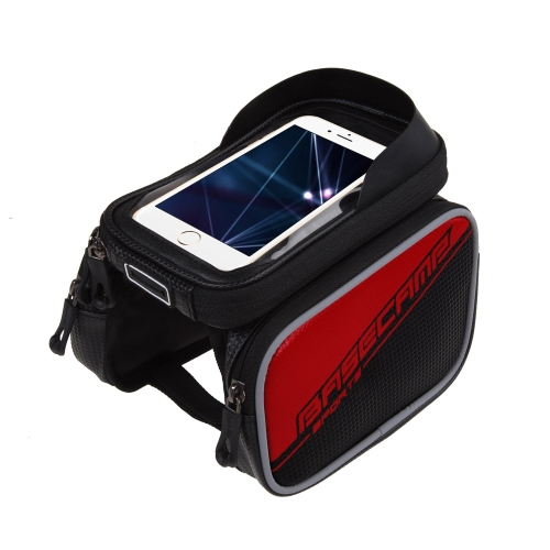 BaseCamp Waterproof Mountain Road MTB Bike Bicycle Frame Pannier Saddle Front Top Tube Double Bag Cycling Pouch Touchable for 6.0Sports &amp; Outdoor<br>BaseCamp Waterproof Mountain Road MTB Bike Bicycle Frame Pannier Saddle Front Top Tube Double Bag Cycling Pouch Touchable for 6.0<br>