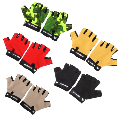 Breathable Anti-slip Gloves Outdoor Sports MTB Tactics Fitness Half Finger GlovesSports &amp; Outdoor<br>Breathable Anti-slip Gloves Outdoor Sports MTB Tactics Fitness Half Finger Gloves<br>