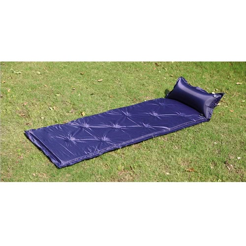 183 * 57 * 2.5cm Waterproof Automatic Inflatable Self-Inflating Dampproof Sleeping Pad Tent Air Mat Mattress with Pillow for OutdoSports &amp; Outdoor<br>183 * 57 * 2.5cm Waterproof Automatic Inflatable Self-Inflating Dampproof Sleeping Pad Tent Air Mat Mattress with Pillow for Outdo<br>