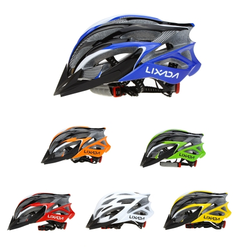 Lixada 25 Vents Ultralight Integrally-molded EPS Outdoor Sports Mtb/Road Cycling Mountain Bike Bicycle Adjustable Skating HelmetSports &amp; Outdoor<br>Lixada 25 Vents Ultralight Integrally-molded EPS Outdoor Sports Mtb/Road Cycling Mountain Bike Bicycle Adjustable Skating Helmet<br>