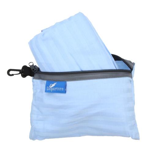 75 * 220cm viagem exterior Camping caminhadas 100% algodão único saco de dormir saudável forro com fronha portátil Lightweight negócios viagem Hotel