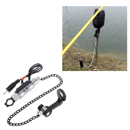 Iron Fishing Bite Alarm Chain Hanger Swinger LED Illuminated IndicatorSports &amp; Outdoor<br>Iron Fishing Bite Alarm Chain Hanger Swinger LED Illuminated Indicator<br>