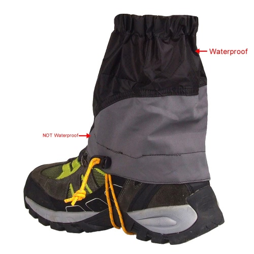 Outdoor Silicon Coated Nylon Waterproof Ultralight Gaiters Leg Protection Guard Hiking Climbing TrekkingSports &amp; Outdoor<br>Outdoor Silicon Coated Nylon Waterproof Ultralight Gaiters Leg Protection Guard Hiking Climbing Trekking<br>