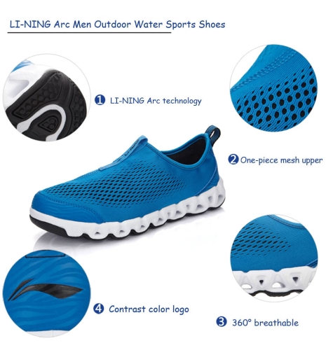 LI-NING Arc Arch Men Outdoor Lightweight Water Sports Shoes Ultra-lightSports &amp; Outdoor<br>LI-NING Arc Arch Men Outdoor Lightweight Water Sports Shoes Ultra-light<br>