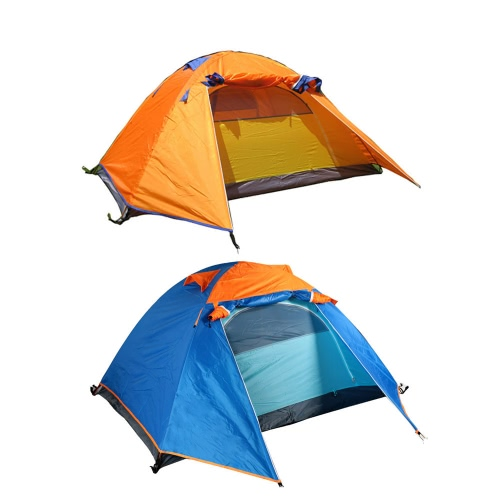Outdoor Camping Waterproof Double Layer 2-3 People Tent with BagSports &amp; Outdoor<br>Outdoor Camping Waterproof Double Layer 2-3 People Tent with Bag<br>