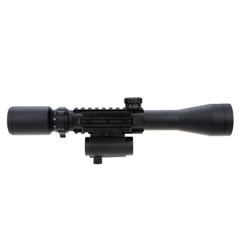 3-9X40EG Red Green Illuminated Tactical Riflescope + Red Laser Sight + Holographic Dot SightSports &amp; Outdoor<br>3-9X40EG Red Green Illuminated Tactical Riflescope + Red Laser Sight + Holographic Dot Sight<br>