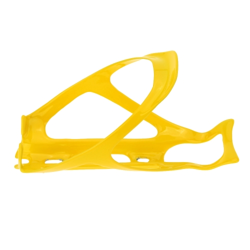 Carbon Fiber MTB Bicycle Yellow Glossy Water Bottle Holder Cage with ScrewsSports &amp; Outdoor<br>Carbon Fiber MTB Bicycle Yellow Glossy Water Bottle Holder Cage with Screws<br>