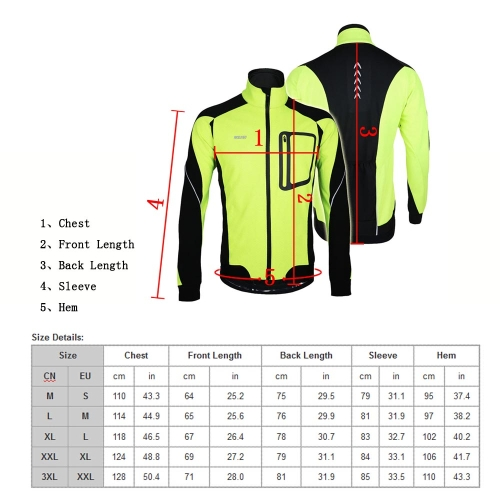 ARSUXEO Winter Warm Thermal Cycling Long Sleeve Jacket Bicycle Clothing Windproof Jersey MTB Mountain Bike JacketSports &amp; Outdoor<br>ARSUXEO Winter Warm Thermal Cycling Long Sleeve Jacket Bicycle Clothing Windproof Jersey MTB Mountain Bike Jacket<br>