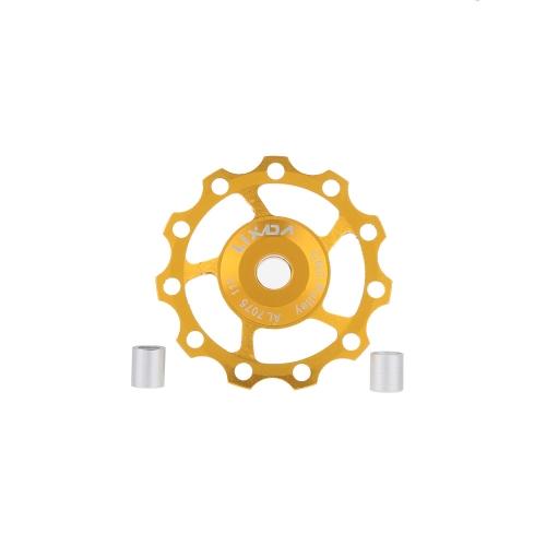 Lixada MTB Mountain Bike Road Bicycle Rear Derailleur 7075 Aluminum Alloy 11T Guide Roller Idler Pulley Jockey Wheel Part AccessorSports &amp; Outdoor<br>Lixada MTB Mountain Bike Road Bicycle Rear Derailleur 7075 Aluminum Alloy 11T Guide Roller Idler Pulley Jockey Wheel Part Accessor<br>