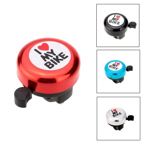 I Love My Bike Printed Clear Sound Cute Bike Alarm Warning Ring Bell Bicycle Accessory