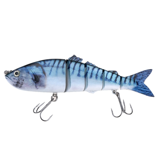8.5 Life Like Hard Bait Multi Jointed Segmented Section Fishing Lure with Treble HooksSports &amp; Outdoor<br>8.5 Life Like Hard Bait Multi Jointed Segmented Section Fishing Lure with Treble Hooks<br>