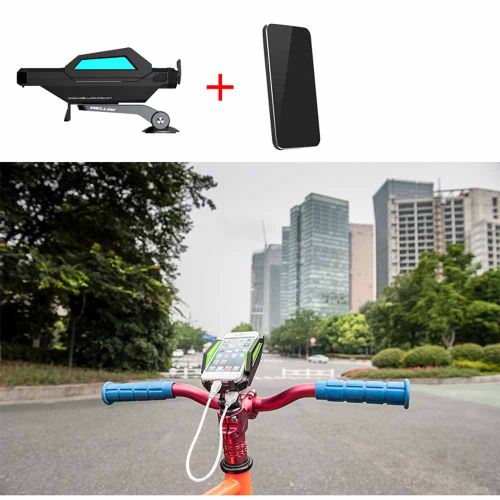 60-85mm Adjustable Width MTB Bicycle Phone Mount Holder for Cell Phones with 6000mAh Power BankSports &amp; Outdoor<br>60-85mm Adjustable Width MTB Bicycle Phone Mount Holder for Cell Phones with 6000mAh Power Bank<br>