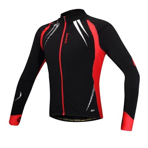SANTIC Cycling Fleece Thermal Long Jersey Fall Winter JacketSports &amp; Outdoor<br>SANTIC Cycling Fleece Thermal Long Jersey Fall Winter Jacket<br>