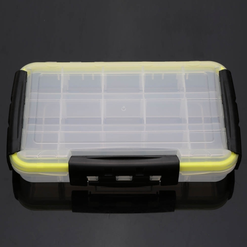 15 Compartments Transparent Lure Box Fishing Tackle BoxSports &amp; Outdoor<br>15 Compartments Transparent Lure Box Fishing Tackle Box<br>