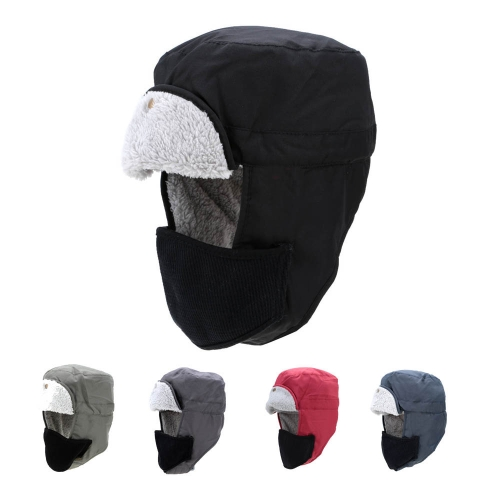 Winter Outdoor Velveteen Thermal Hat Ear Flaps Thermal Padded Warm Hat Windproof Hat Skiing Hat UnisexSports &amp; Outdoor<br>Winter Outdoor Velveteen Thermal Hat Ear Flaps Thermal Padded Warm Hat Windproof Hat Skiing Hat Unisex<br>