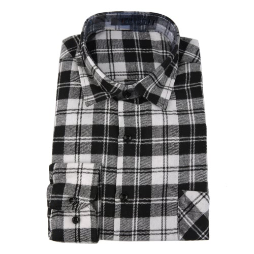 Button Plaid Shirt Long Sleeve Flannel Plaid Casual Shirt for MenApparel &amp; Jewelry<br>Button Plaid Shirt Long Sleeve Flannel Plaid Casual Shirt for Men<br>