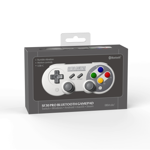 8Bitdo SF30 Pro Wireless BT Portable Mini Handle Mobile Phone PC Android Game-controllerToys &amp; Hobbies<br>8Bitdo SF30 Pro Wireless BT Portable Mini Handle Mobile Phone PC Android Game-controller<br>