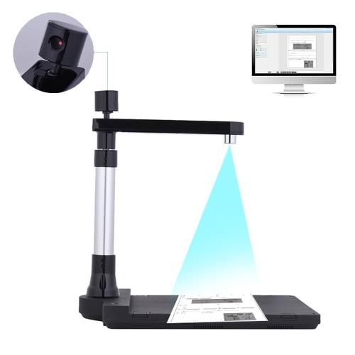 Регулируемый сканер HD-документов Два объектива (10 мегапикселей и 2 мегапикселя) Размер сканирования до A3 (Extended) / A4