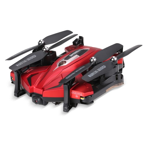 Skytech TK110HW Wifi FPV Foldable RC Quadcopter - Red - BNFToys &amp; Hobbies<br>Skytech TK110HW Wifi FPV Foldable RC Quadcopter - Red - BNF<br>