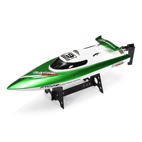 Feilun FT009 30km/h High Speed RC Racing Boat - GreenToys &amp; Hobbies<br>Feilun FT009 30km/h High Speed RC Racing Boat - Green<br>