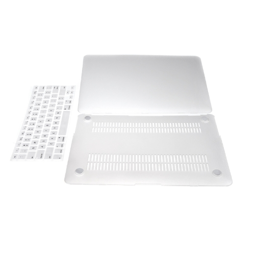Matte Hard Shell Case Keyboard Protector Cover for MacBook Air 11 Clear WhiteComputer &amp; Stationery<br>Matte Hard Shell Case Keyboard Protector Cover for MacBook Air 11 Clear White<br>